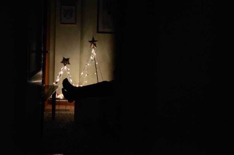 Spiegelreflexkamera zu Weihnachten